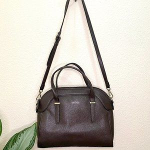 Kenneth Cole Reaction Brown Faux Leather Purse